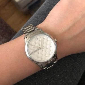 AX crystal ladies watch